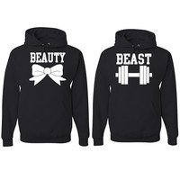 Beauty and The Beast Hooded Sweatshirt Couples Relationships Boyfriend Girlfriend Hoodies