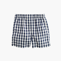 crewcuts Boys Yarn-Dyed Printed Cotton Boxers