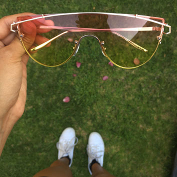 Gratitude Mirrored Aviator Sunnies
