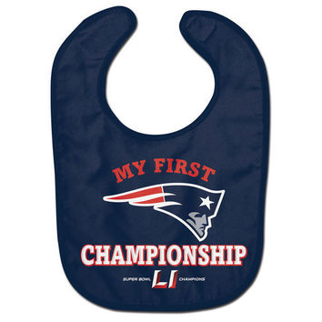 New England Patriots Super Bowl LI Champions All Pro Baby Bib