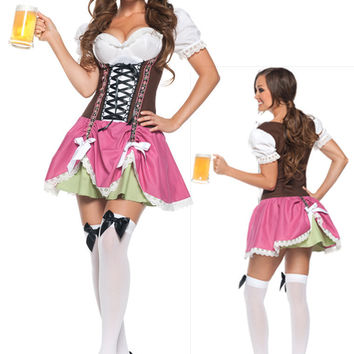 Waitress Cosplay Anime Cosplay Apparel Holloween Costume [9211522500]