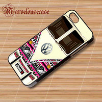Abstract Stripes VW Minibus custom case for all phone case