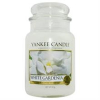 Yankee Candle White Gardenia Scented Large Jar