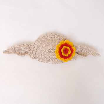 Dobby The House Elf Hat  From Harry Potter For Girl Gryffindor Beanie Newborn Child Teen  Adult - Halloween / Cosplay / Baby Shower Gift