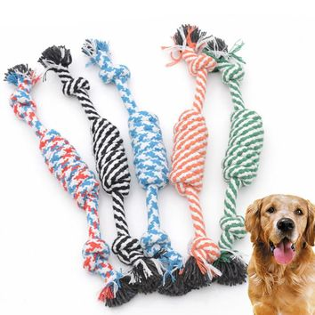 Dog Toys Rope Toy For Pet Grinding Teeth Tooth Cleaning Toys Modeling Miansheng Weaving Carrot 1Pic 05