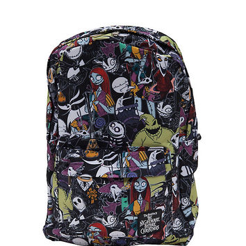 The Nightmare Before Christmas Character Print Backpack
