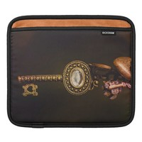 Vintage Key with Copper Charms Photography Sleeve For iPads