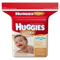 HUGGIES Soft Skin Shea Butter Thick 'n' Clean Wipes, 184 count - Walmart.com