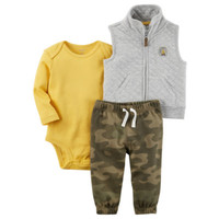 Carter's 3-pc. Camouflage Pant Set Baby Boys - JCPenney