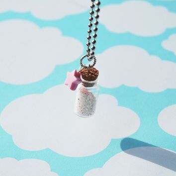 Magical Pixie Dust Necklace by BabyLovesPink on Etsy