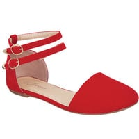 Red Strap Flats