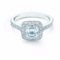 2.62ct Cushion Diamond Engagement Ring 18kt White gold  JEWELFORME BLUE GIA certified