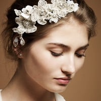 Jenny Packham - Luxury Design House. Bridal and Ready to Wear Dresses & Accessories - Dentelle Luxe Bridal Headdress