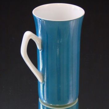 Vintage Harmony House Fine China Japan 4776 Teal Demitasse Espresso Cup