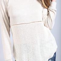 bonfire babe lightweight sweater
