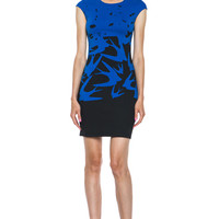 McQ Alexander McQueen | Dress in Cobalt Blue www.FORWARDbyelysewalker.com