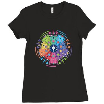 COLDPLAY Ladies Fitted T-Shirt