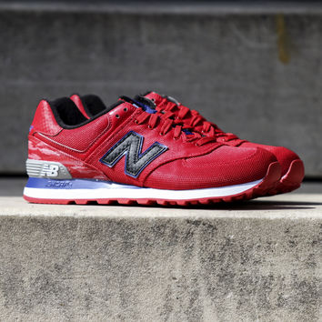 New Balance - 574 Summer Waves - Red