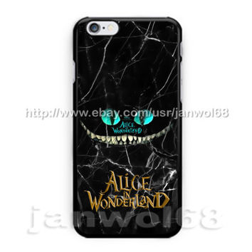 Alice In Wonderland Cheshire Cat For all iPhone Print On Hard Plastic Case
