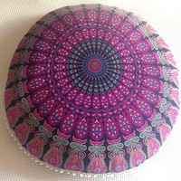Mandala Floor Cushion Cover