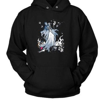 ESBP7V Corpse Bride Tribute Hoodie Two Sided