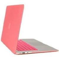 Gearonic Rubberized PC Hard Case with Keyboard Cover and Screen Protector for 11-Inch MacBook Air, Pink (5081PPUIB)