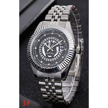 Rolex Trending Ladies Men Stylish Business Sport Movement Lovers Wrist Watch 3# I-YY-ZT