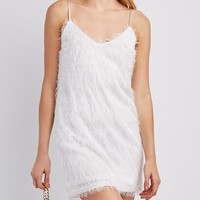 Feather Knit Bodycon Dress | Charlotte Russe