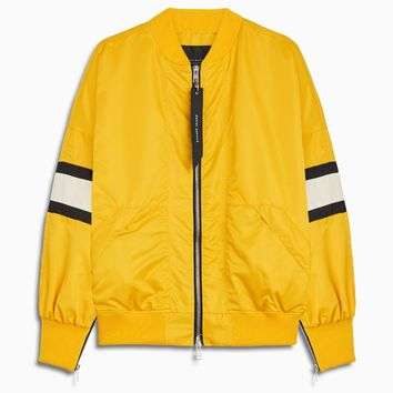 bomber 5.5 / yellow + ivory + black