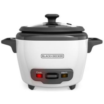 Black & Decker RC503 3-Cup Rice Cooker And Warmer | macys.com