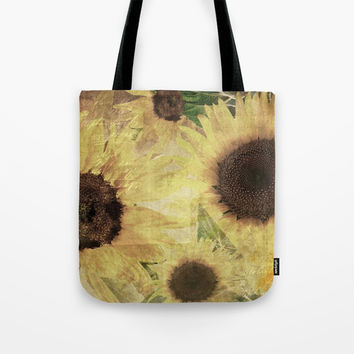 Wallflowers Tote Bag by Theresa Campbell D'August Art