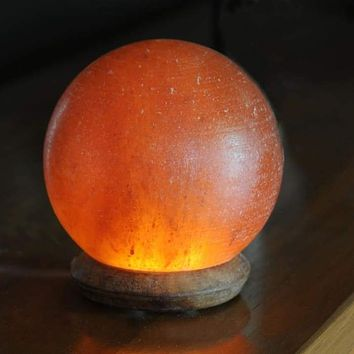 HIMALAYAN GLOBE USB LIGHT - AMBER