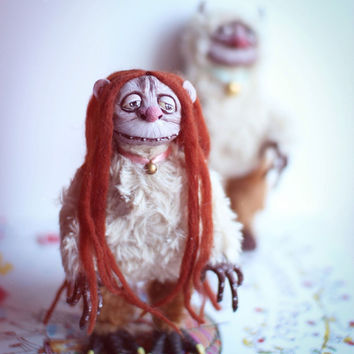 "Art doll KW from ""Where the Wild Things Are"""