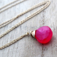 Jelly Bean Necklace in Gold