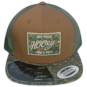 Hooey Hat - 'Rusty' Hooey Camo Trucker Hat - Hooey Camo/Brown