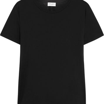 Saint Laurent - Cotton-jersey T-shirt
