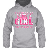 PLAY LIKE A SOCCER SOFTBALL GIRL