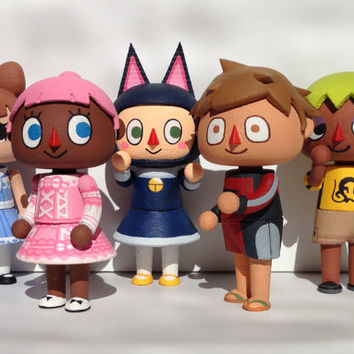 Custom Mayor: Animal Crossing New Leaf Inspired Figure
