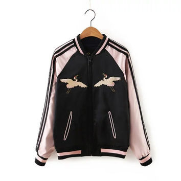 On Sale Sports Hot Deal Winter Pattern Embroidery Jacket Baseball [6332316932]