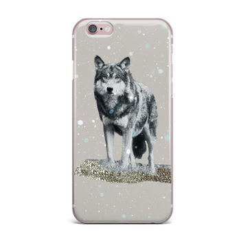 "Monika Strigel ""Wolf"" iPhone Case"