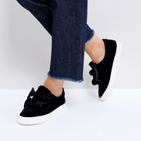 ASOS DITZY Bow Trainers at asos.com