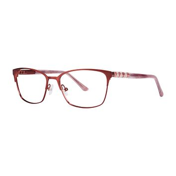 Dana Buchman - Beezus 51mm Raspberry Eyeglasses / Demo Lenses