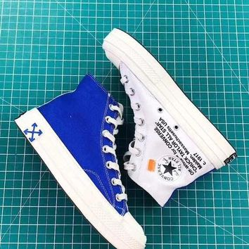Off-White x Converse Chuck Taylor 70s Royal Blue White - Best Deal Online