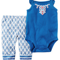 2-Piece Bodysuit Pant Set