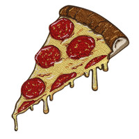 Pizza Iron-On Patch
