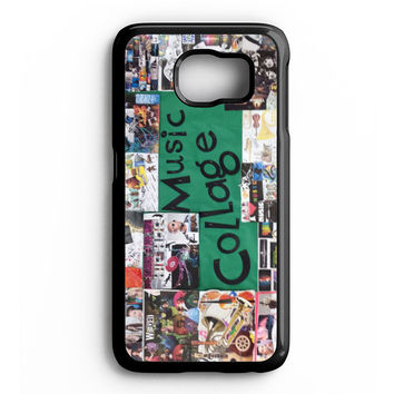 Broadway Musical Collage Samsung Galaxy S6 Case