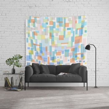 zappwaits-watercolor Wall Tapestry by netzauge