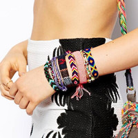 New fashion jewelry Bohemian style Weave charm friendship bracelet for women girl lovers' B3098