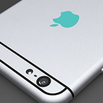 Teal apple logo color changer vinyl sticker decal iphone 6plus