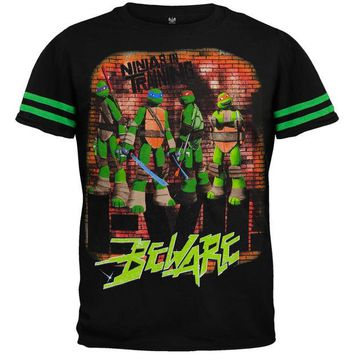 ONETOW Teenage Mutant Ninja Turtles - Beware Juvy T-Shirt